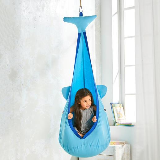 Grotte suspendue Baleine L'endroit idéal pour jouer, rêver, apprendre, dorloter, se balancer …