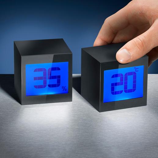 Horloge cube magique A la fois réveil, calendrier et compte à rebours.