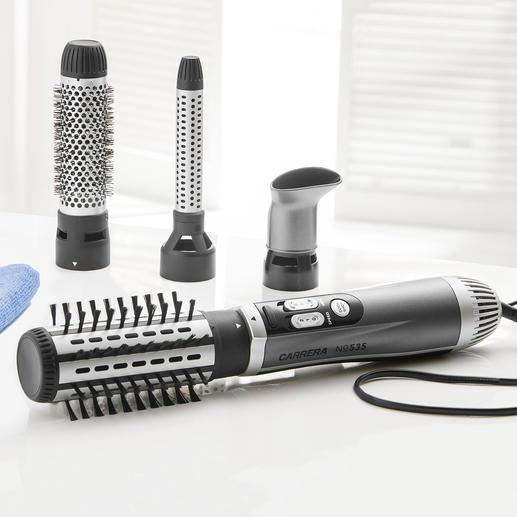 Brosse à air chaud CARRERA  No 535 L'outil polyvalent professionnel pour vos cheveux.