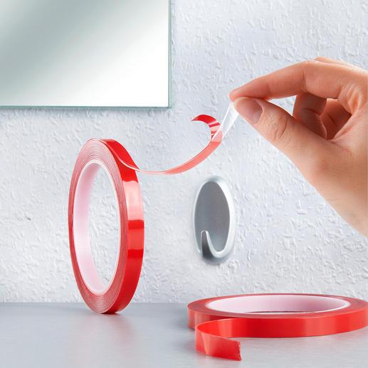 Ruban adhésif Power Tape, lot de 2 pièces - Un ruban adhésif double face ultra puissant, même pour les surfaces rugueuses.