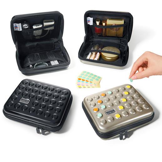 Etui poids plume Dot-Drops® - Une protection stylée pour vos articles de toilette, médicaments, appareils nomades …