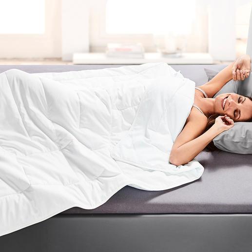 Couette d'été HEFEL Cool Un sommeil réparateur même durant les chaudes nuits d'été.
