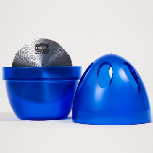 Ôter simplement le couvercle et remplir d'eau jusqu'à la moitié – les odeurs désagréables sont neutralisées et non pas simplement couvertes.