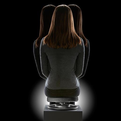 Assise spéciale dos Une position d'assise saine tout en renforçant le dos.