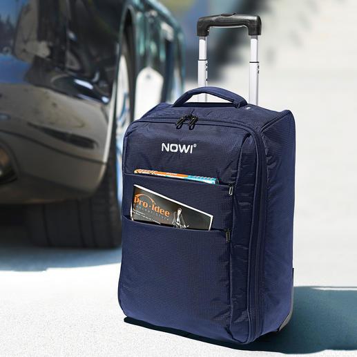 Valise trolley pliable - Spacieux en voyage, peu encombrant dans l'armoire et ultra léger.