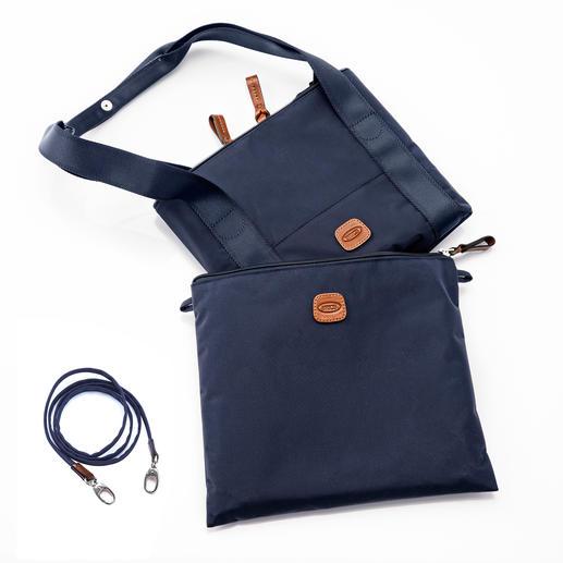 Une fois replié, le sac Multi Bag occupe un format peu encombrant de 29 x 24 cm.
