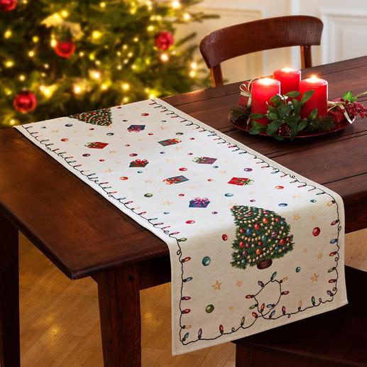Également disponible comme chemin de table de Noël.