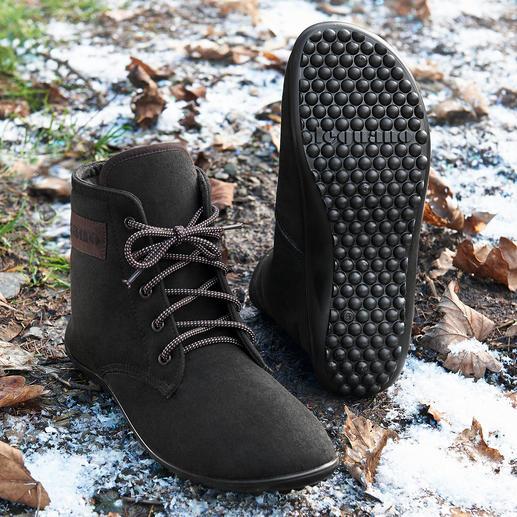 Bottines à lacets barefoot leguano® - Ces chaussures sont aussi saines et agréables que la marche pieds-nus. Fabriquées à la main en Allemagne.