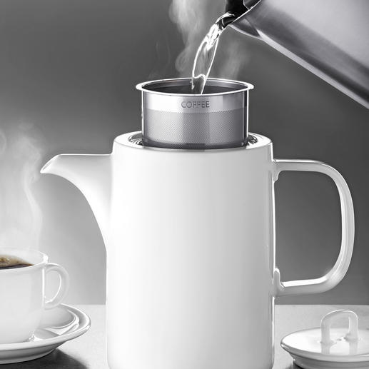 Machine à café ASA Un café classique, infusé à la main, en toute facilité, et sans marc de café.