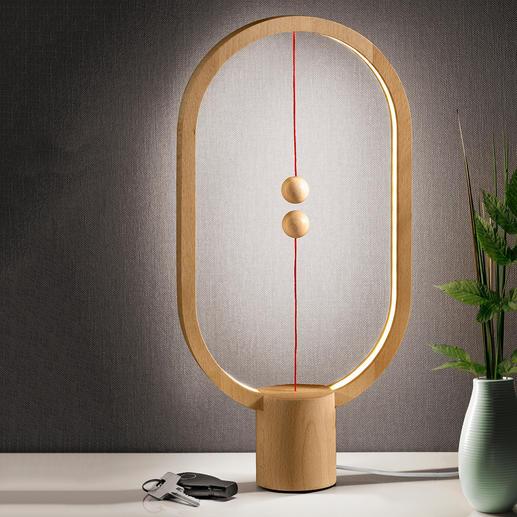 Heng Balance Lamp Un objet lumineux fascinant en lieu et place d'une simple lampe.
