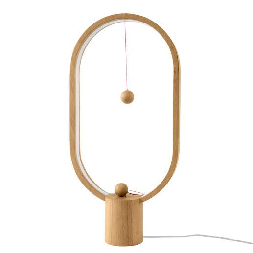 Pour éteindre la lampe, éloigner simplement la boule du champ magnétique puis la poser sur le socle.