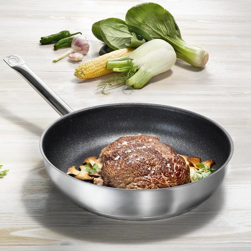 Poêles PROFILE-Premium Qualité gastronomique durable. De Gäns Stahlwaren (GSW). Revêtement Teflon™.