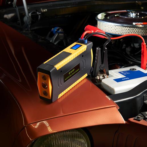 Aide au démarrage haute performance Plus puissante et plus polyvalente. Avec une capacité de charge de 16800 mAh.