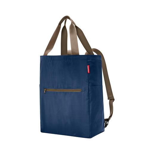 Sac shopping pliable 2-en-1 reisenthel® Petit et maniable, poids plume, toujours prêt !