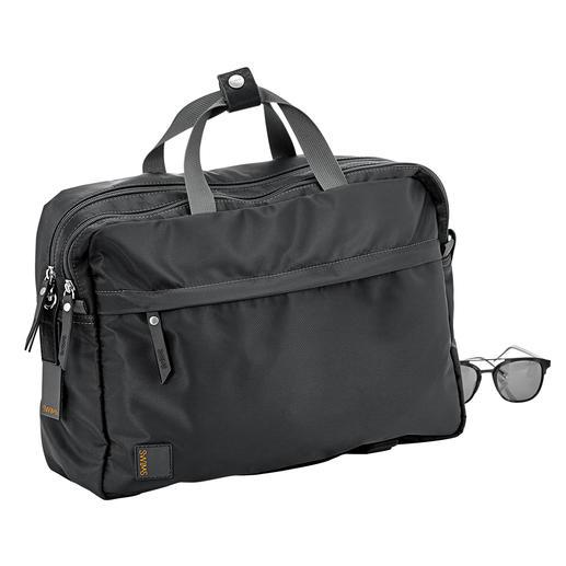 Sacoche/sac à dos polyvalente Swims - Deux en un : une sacoche ou un sac à dos. Design norvégien.
