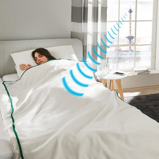 Couverture anti-ondes Sleep Safe® Une protection efficace contre les rayonnements électromagnétiques.