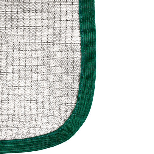 La fibre de protection BD 1 réticulée incluse dans la trame bloque jusqu'à 99 % des rayonnements*.