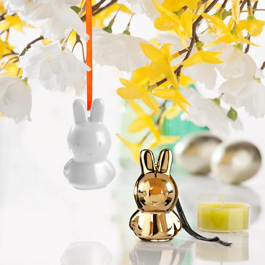 Suspension Miffy, lot de 3 pièces Partout dans le monde, ses fans l'adorent - à Pâques et aussi toute l'année.