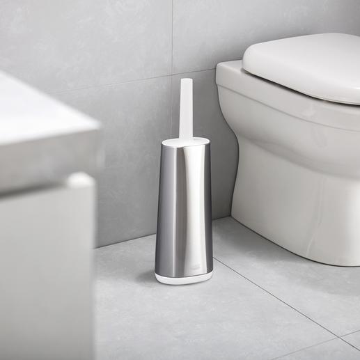 Brosse WC silicone flexible La brosse pour toilettes en silicone, par le designer britannique Joseph Joseph.