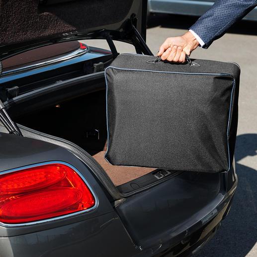 À ranger dans sa valisette fournie et à placer dans le coffre.
