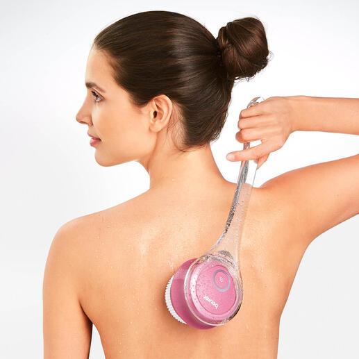 Brosse électrique pour le corps Beurer - Prenez soin de votre peau très facilement sous la douche ou dans le bain.