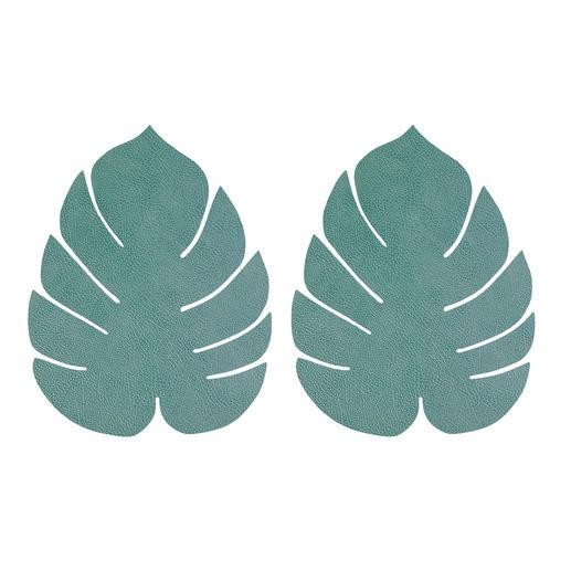 Bleu-vert, Lot de 2, grand