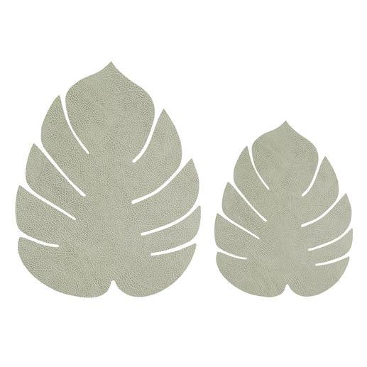 Vert olive clair, grand et petit