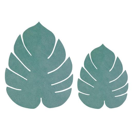 Bleu-vert, grand et petit