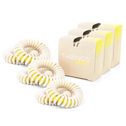 Élastique en spirale haute performance, lot de 6 pièces Astucieuse forme en spirale à technologie brevetée « ring-in-ring ».