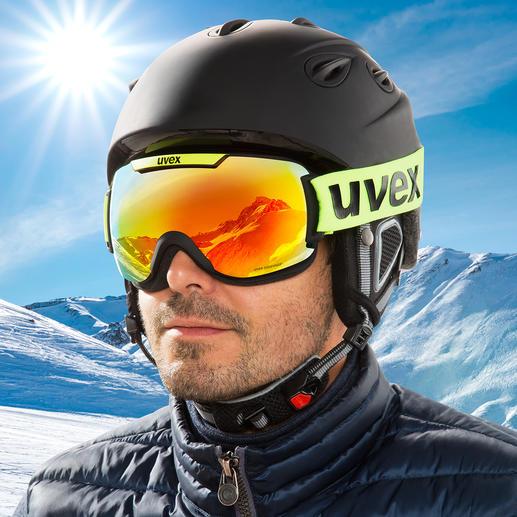 Lunettes de ski uvex downhill 2000 CV Les lunettes de ski Single Lens par uvex, équipées de la dernière technologie colorvision® et supravision®. Lauréates du ISPO Award 2019.