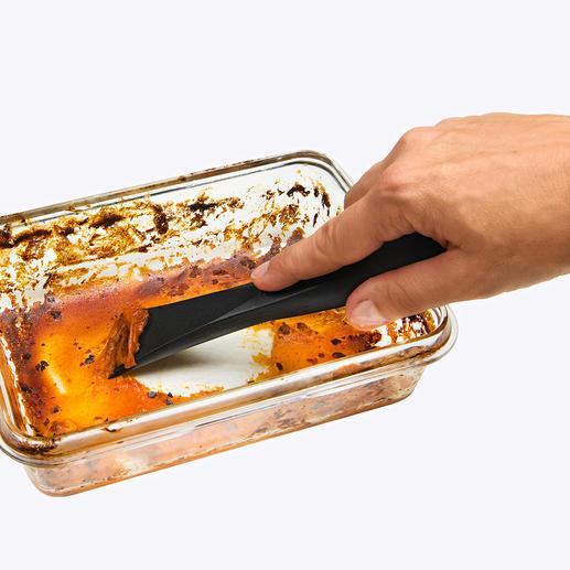 Grattoir plaque de cuisson anti-griffe