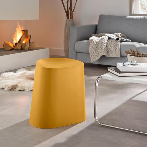 Tabouret Relish - Un objet aux talents multiples : tabouret, chaise de jardin, repose-pieds …