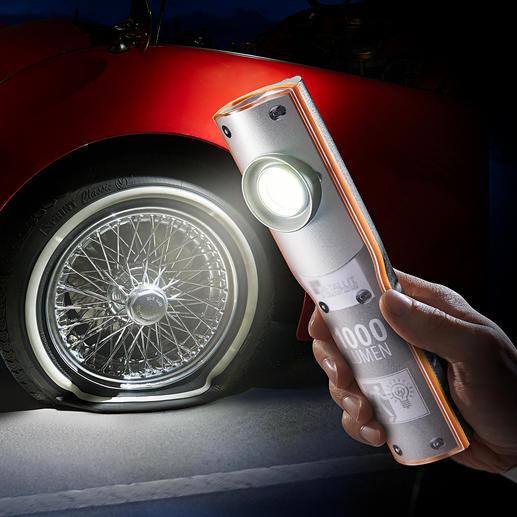 Lampe rechargeable 1 000 Lumen Difficile de trouver une lampe rechargeable à LED plus lumineuse et plus fiable.