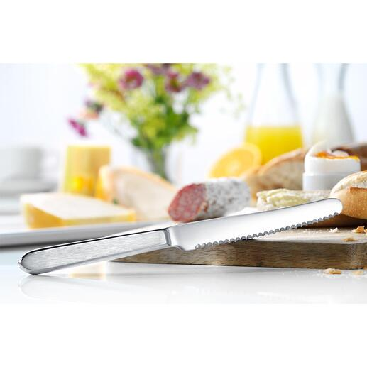 Couteaux à pain, lot de 6 pièces Le couteau à petit-déjeuner parfait ! Idéal pour couper et tartiner.