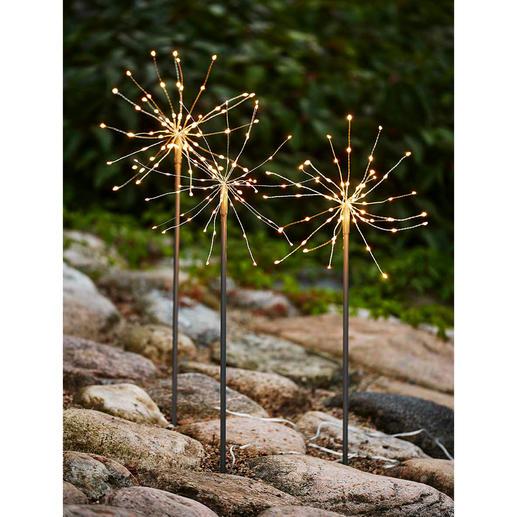 Fleurs lumineuses LED, lot de 9 pièces Des bougies magiques qui ne se consument jamais, aux fines LED scintillantes, telle la rosée du matin.