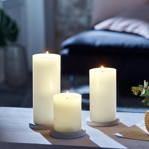 BougieLEDUYUNILighting La dernière génération de bougies LED : encore plus naturelles, plus romantiques et plus chaleureuses.