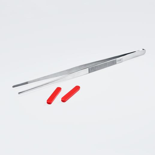 Au besoin, vous pouvez ôter les embouts silicone; pratique pour les grillades.
