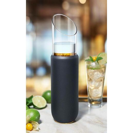 Carafe Eisch Précieux verre de cristal soufflé à la bouche – avec or 24 carats appliqué à la main.