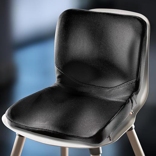 Coussin de siège P!NTO Qui en sait plus sur la meilleure façon de s'asseoir que la femme qui a fabriqué des milliers de solutions d'assise sur mesure pour les personnes atteintes d'un handicap ?