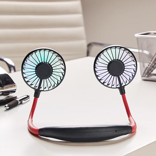 Idéal aussi comme ventilateur de table pour le bureau ou la table de nuit.