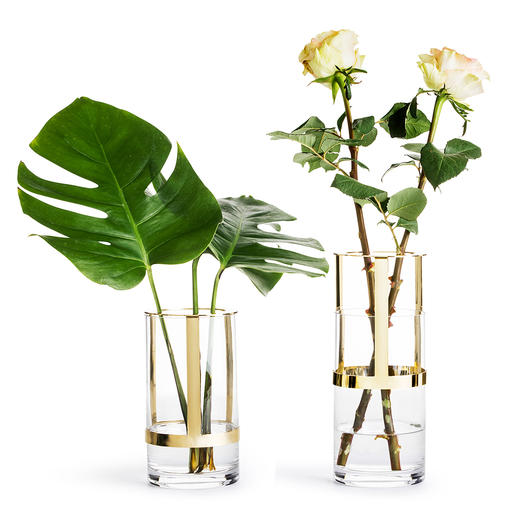 Vase réglable en hauteur Le vase en verre primé qui s'adapte parfaitement aux bouquets de fleurs.