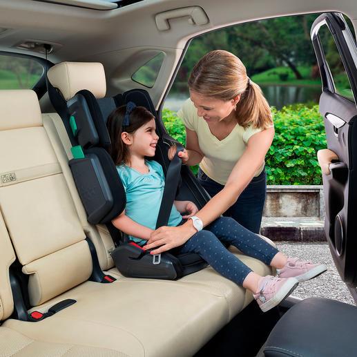 Siège enfant repliable « hifold » Le siège enfant nouvelle génération se replie à la taille d'un bagage à main en quelques secondes.