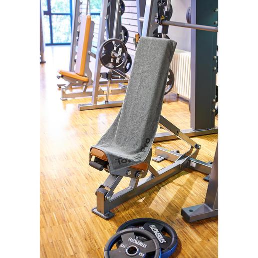 Serviette de sport aimantée Elle tient parfaitement– parfait pour de nombreux appareils de fitness !