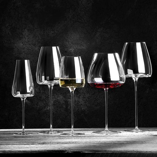 Verres à vin Vision, lot de 2 pièces Dégustez votre vin dans les meilleures conditions avec ces verres de caractère.