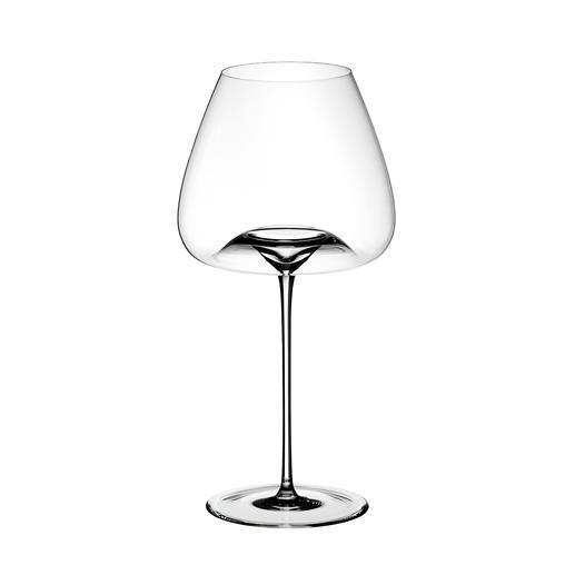 BALANCED : Pour les vins blancs et rouges de Bourgogne, les grands vins piémontais, les vins blancs et rouges extrêmement complexes et pourtant délicats, les rosés très opulents, les vieux champagnes millésimés. H25cm, Ø12cm, contenance: env. 850ml.