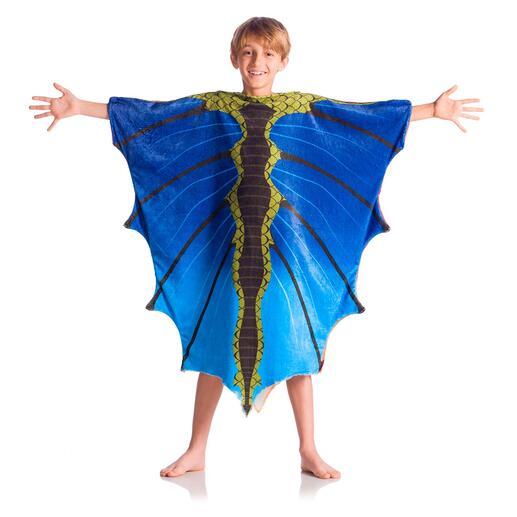Dragon, Orange/Bleu