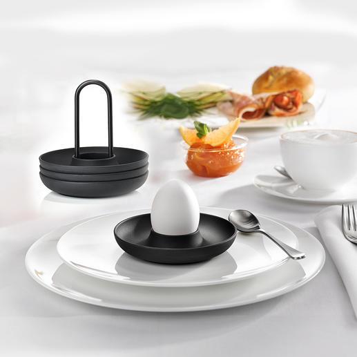 Coquetier design ZONE Denmark Ce bel objet au design danois ennoblit tables de petit déjeuner et de brunch.
