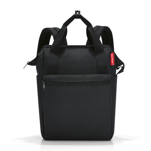 Sac isotherme reisenthel® 2-en-1 Ce superbe sac isotherme peut également être porté confortablement comme sac à dos.