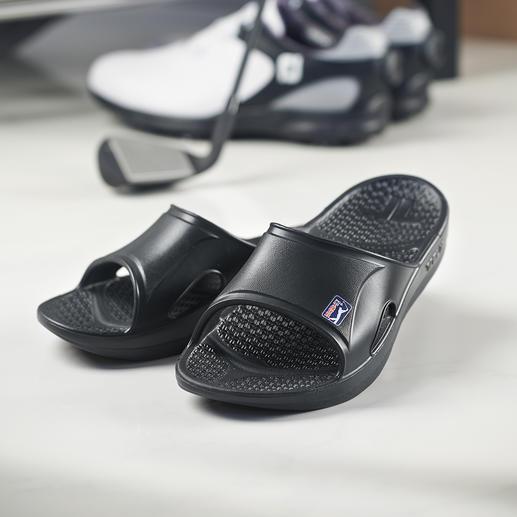 Sandales régérantes Telic En Novalon™ : poids plume, thermoactif, anti-allergène et exempt de latex.