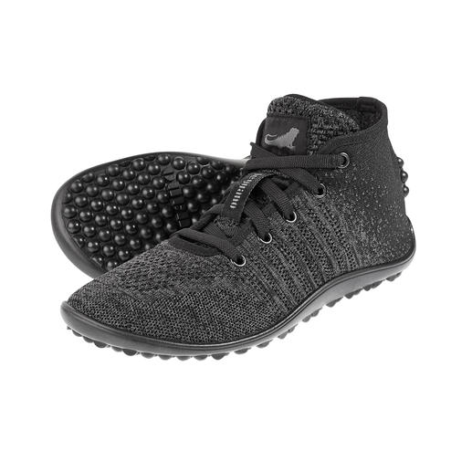 Sneakers en maille barefoot leguano® Les véritables leguano® sensation « pieds nus » – ici dans une version sneakers montants en maille.